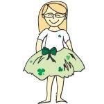 irish flowergirl t-shirts
