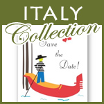 italy wedding invitations