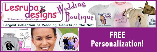 personalized wedding t-shirts and gifts