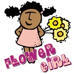 ethnic flower girl gifts for african-american flower girls
