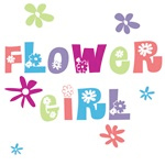 floral flower girl t-shirts and gifts