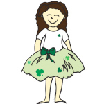 st. patrick's day flower girl gifts